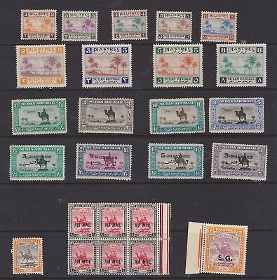 British , SudEgyptian Camels   mint lot