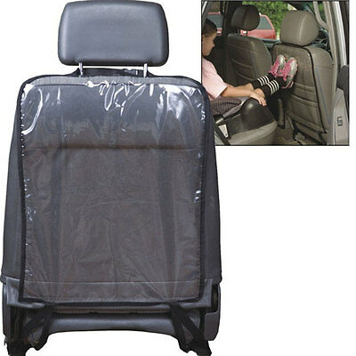 Car Auto Seat Back Protector Cover Children Kid Kick Mat Mud Storage Bag Clear