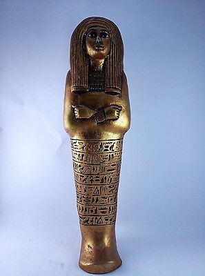 RARE ANCIENT EGYPTIAN ANTIQUE Queen Ushabti Tomb 1125-1050 BC