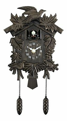Acctim Hamburg Antique Traditional Classic Cuckoo Bronze Wall Clock