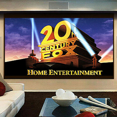 180'' 16:9 Projector Screen Home Theater Office Work Outdoor Movie Projection
