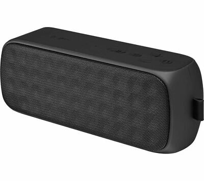 JVC SP-AD70-B Portable Wireless Speaker Bluetooth NFC Microphone Aux In Black
