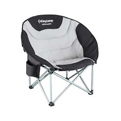 KING CAMP Camping Moon Chair Padded Heavy Duty Steel Cooler Bag NEW