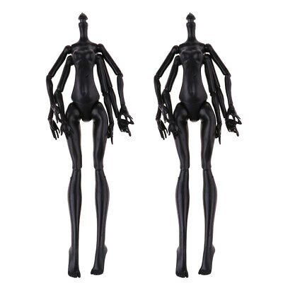 2pc Spider Shape Doll Polyarticular Turnable Nude Girl Body For Monster High