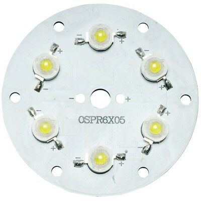 TruOpto OSPR6XW5-W4XZE1E1E White 6500K 6x1W Power LED 600lm