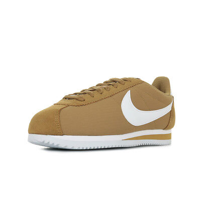 "Chaussures Baskets Nike homme Classic Cortez Nylon ""Muted Bronze"" taille Marron"