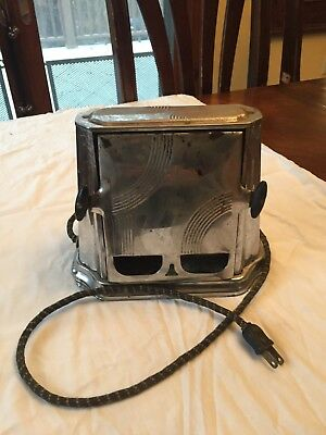 Son-Chief Vintage Toaster Antique, This toaster works, Art deco display