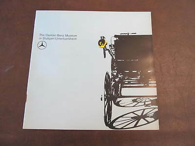 "Vintage 1964 Daimler-Benz Museum Brochure 8 1/4"" x 8 1/8"" 24 pages New"