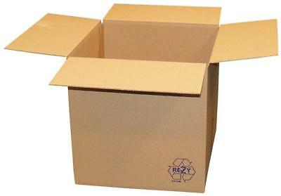 Single Wall Packing and Moving Storage Boxes - 25 Pack
