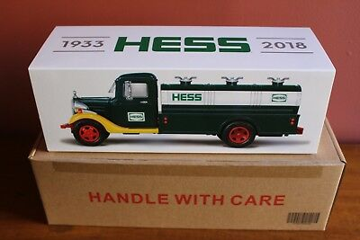 2018 HESS TOY TRUCK 85th ANNIVERSARY COLLECTOR'S LIMITED EDITION (SOLD OUT)