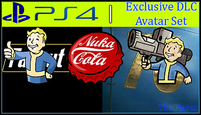 FALLOUT 76 | PS4 Theme & Avatar Pack | DLC | Playstation 4 PS4 [Digital  Codes]