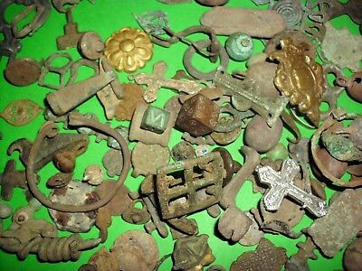 Huge Lot Of Celtic, Roman, Viking, Medieval Metal Detecting Finds - 500Bc/1600Ad