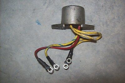 EVINRUDE JOHNSON OMC Voltage Rectifier 511938 25hp 35hp 40hp Outboard Boat  Motor