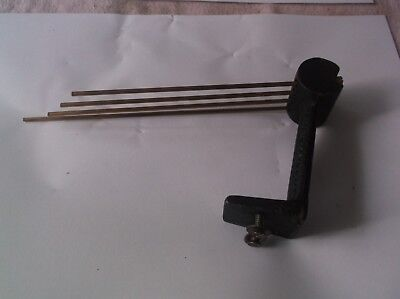 4 Fork Chimes  From An Old 4X4 Westminster British Mantle Clock   Ref V 12