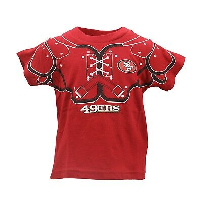 85e41229bb8 San Francisco 49ers Official NFL Team Apparel Infant Toddler Size T-Shirt  New