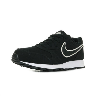 buy online a5189 6a76b Chaussures Baskets Nike homme MD Runner 2 SE taille Noir Noire Textile  Lacets
