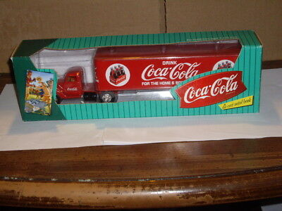 Coca Cola truck bank made by Ertl 1996