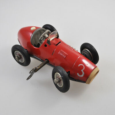 Schuco Grand Prix Racer 1070 - Made in US-Zone Germany - Vintage Tin Toy