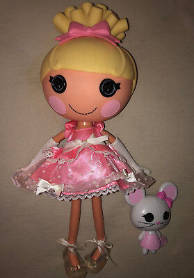 Lalaloopsy Puppe - Cinder Slippers