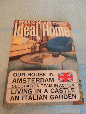 Vintage Ideal Home Magazine May 1965.