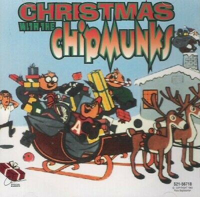 Chipmunks - Vol. 1-Christmas With The Chipmunks [CD New]