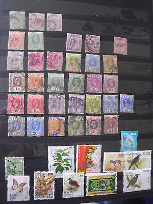 Brit. Ceylon: interessantes Lot