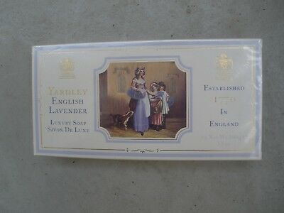 Yardley English Lavender - Luxury Soap - Lavendel Seife 3 Stück - OVP