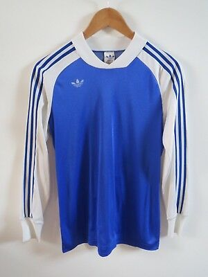 Adidas Ventex light and dark blue top 70s 80s vintage made in France size XS