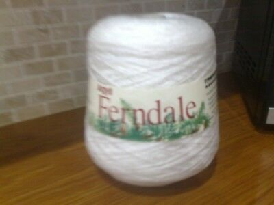 Argyll Ferndale 4 ply cone in White