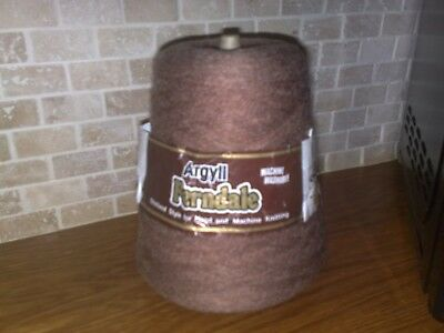 Argyll Ferndale 4 ply cone in Light Brown