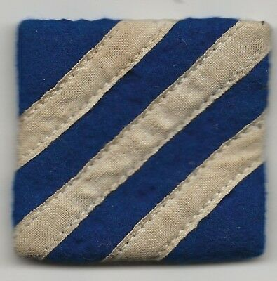 Killer Overseas Made US Army 3rd Infantry Division Shoulder Patch.