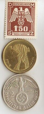 "- *""king  Tut""   +  *WWII - *german  coin / stamp  + *egyp. ""CLEOPATRA"" coin"