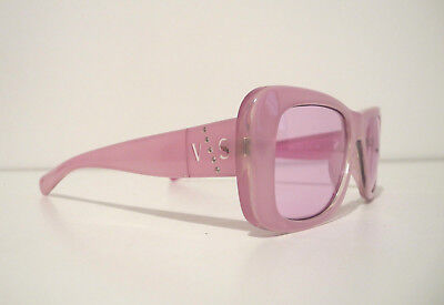 9ca6336c6fcc Versus Versace Real Vintage Occhiali Squared Sunglasses Mod.E75 Made in  Italy