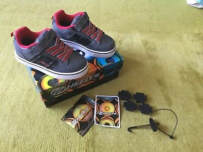Heelys x2, size 13, excellent condition with box and accessories
