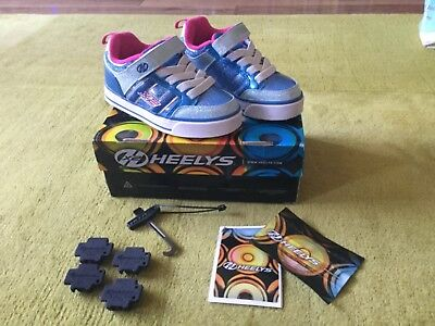 Heelys x2, size 12, excellent condition with box and accessories