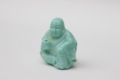 Chinese carved turquoise figure of a Buddha #2, China