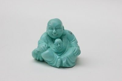 Chinese carved turquoise figure of a Buddha #3, China