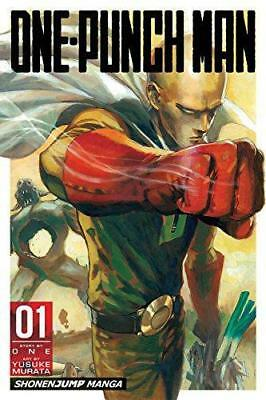 One-Punch Man Volume 1, Very Good Condition Book, ONE, ISBN 9781421585642