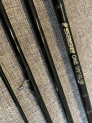 "Sage One 7wt 13'6"" Spey Rod w/Behemoth Reel/line & Heads All New Never Fished"