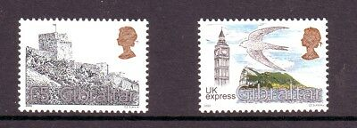 Gibraltar 2000 & 2003 Two U/m Stamps