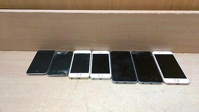 Lot of 7 FOR PARTS Apple iPhones/iPods