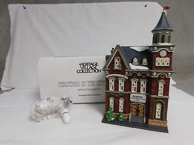 Dept. 56 ~ Christmas In The City Series  ~ Brighton School ~ #58876