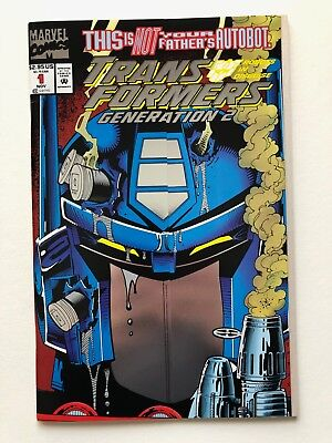 Transformers: Generation 2 #1 (1993) Marvel Comics Foil Cover
