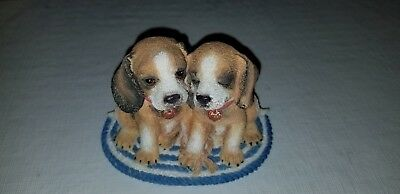 Puppy Pals (We're In This Together) #44818 1997 Roman Inc Two Puppies