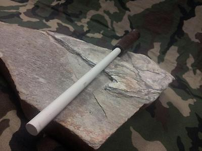 "Arkansas Sharpener Ceramic Knife Sharpening Stick 12"" w/ Wood Made in USA AC46"