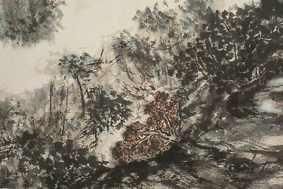 Chinese Traditional Ink Brush Painting
