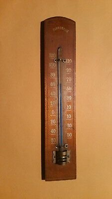 Vintage Working Thermometer