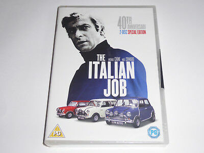 The Italian Job: 40th Anniversary 2 Disc Special Edition - NEW DVD Michael Caine