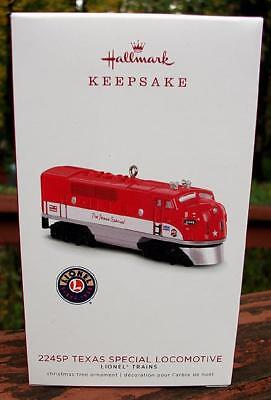 2018 Hallmark Lionel Trains 2245P TEXAS SPECIAL Locomotive Christmas Ornament