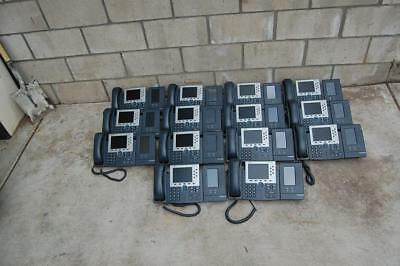 14 Cisco 7965 IP Phone w/ 7916 Expansion Module VOIP IP Business Telephones